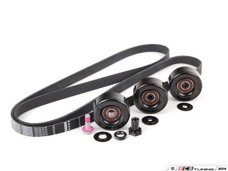 ES#2784712 - 99610215166KT2 - Serpentine Belt Kit - Accessory belt with rollers - Genuine Porsche - Porsche