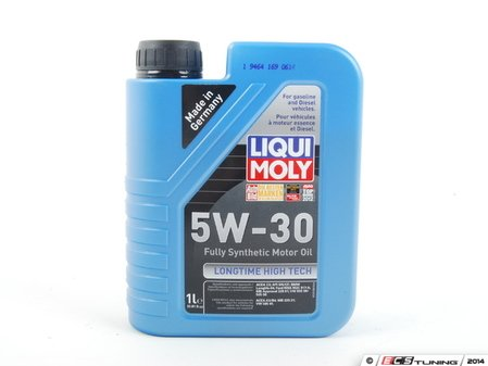 ES#517884 - 2038 - Longtime High Tech Engine Oil (5w-30) - 1 Liter - A synthetic oil designed with overall fuel economy in mind, while still being able to handle long drain requirements - Liqui-Moly - Audi BMW Volkswagen MINI