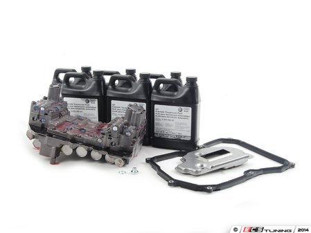 ES#2636945 - 09G325039AKT - 6-Speed Automatic Gearbox Valve Body Replacement Kit - Includes everything you need to replace a bad valvebody. Includes $150 refundable core charge - Assembled By ECS - Volkswagen
