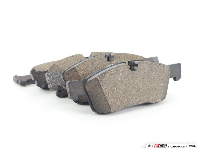Genuine mercedes benz 0074208120 front brake pads for Mercedes benz rotors and pads