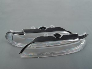 Clear Headlight Lens Cover Set
