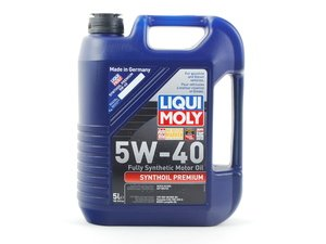 ES#258725 - 2041 - Synthoil Premium Engine Oil (5w-40) - 5 Liter - A fully synthetic oil specifically designed around the unique needs and long drain intervals of European engines - Liqui-Moly - Audi BMW Volkswagen