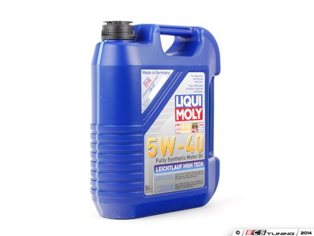 ES#2785255 - 2332 - Leichtlauf High Tech Engine Oil (5w-40) - 5 Liter - Ideally suited for modern gasoline and diesel engines with multi-valve and turbocharging technology - Liqui-Moly - Audi BMW Volkswagen Mercedes Benz MINI