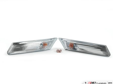 ES#2681164 - 98763101300KT - European Side Marker Kit - Give your 987 some European flair - Assembled By ECS - Porsche