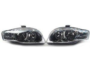 ES#2770923 - 8E0941003BKKT - Euro Halogen Headlight Set  - Upgrade to the European style housings without the amber indicator - TYC - Audi