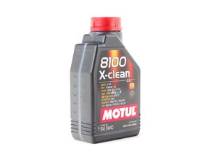 ES#261461 - 841611 - 8100 X-Clean C3 Engine Oil (5w-40) - 1 Liter - 100% Synthetic engine oil specially designed around the demands of direct fuel injection engines. - Motul - Audi BMW Volkswagen