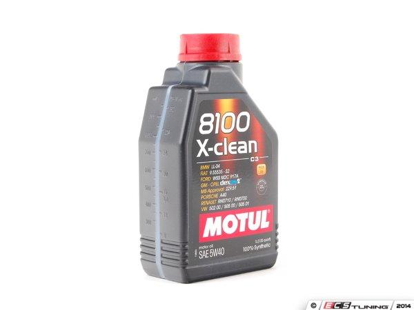 motul 841611 8100 x clean c3 engine oil 5w 40 1 liter. Black Bedroom Furniture Sets. Home Design Ideas