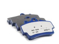 ES#2779720 - 7606-D737 - Front Cool Carbon S/T Performance Brake Pad Set - All-in-one brake pads that deliver pure undiluted performance - Cool Carbon Performance - Porsche