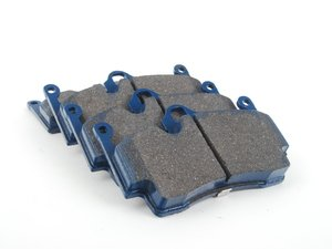 ES#2779726 - 8245-D1134 - Rear Cool Carbon S/T Performance Brake Pad Set - All-in-one brake pads that deliver pure undiluted performance - Cool Carbon Performance - Porsche