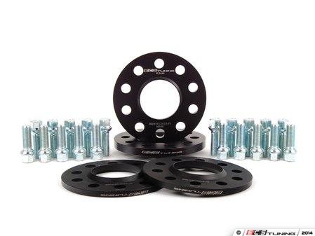 """ES#2678093 - 002411ECS01AKT -  Wheel Spacer Flush Fit Kit - Polished Bolts - Includes spacers & Polished bolts to obtain a flush look on your OE 19"""" 'Peeler' style wheels - ECS - Audi"""