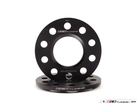 ES#2785217 - 002411ecs04a08KT -  8mm Wheel Spacer Kit - Add some flair to your Audi with our new wheel-centric spacers - ECS - Audi