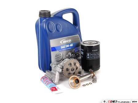 ES#2784882 - 06A115105BKT4 -  Oil Sludge Repair Kit - Regular Grade - Replace your clogged pickup tube and oil pump - Assembled By ECS - Volkswagen