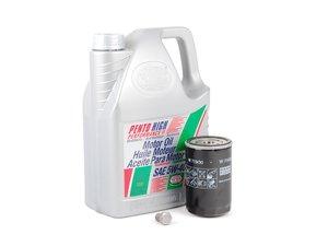 ES#2784865 - PLSOIL5KT -  Oil Service Kit - Includes standard Mann oil filter and Pentosin 5w-40 oil - Assembled By ECS - Volkswagen