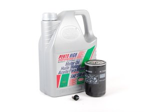 ES#2784866 - PLSOIL6KT -  Oil Service Kit - With ECS Magnetic Drain Plug - Includes standard Mann oil filter and Pentosin 5w-40 oil - Assembled By ECS - Volkswagen