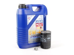 ES#2784861 - PLSOIL3KT -  Oil Service Kit - *ECS Recommends* - Includes standard Mann oil filter and Liqui Moly 5w-40 oil - Assembled By ECS - Volkswagen