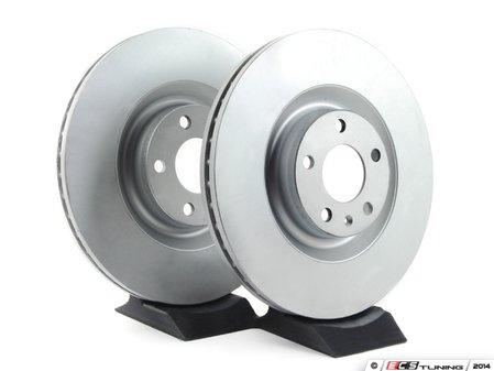 ES#2539226 - 8E0615301TKT4 - Front Brake Rotors - Pair (345x30) - Restore the stopping power in your vehicle - Balo -