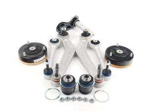 ES#2598843 - 33326767748KT1 - Rear Suspension Refresh Kit - Level 1 - Bushings and hardware for a partial rear suspension rebuild - with Lemforder and Meyle components - Assembled By ECS - BMW