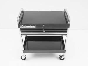 ES#2763029 - 006692SCH01A - Locking Service Cart - (NO LONGER AVAILABLE) - Heavy duty cart with locking lid and drawer - convenience and security, where you need it! - Schwaben - Audi BMW Volkswagen Mercedes Benz MINI Porsche