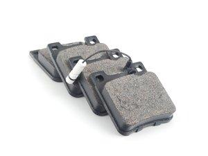 ES#2603099 - 0044209320 - Rear Brake Pad Set - Does not include new brake pad wear sensors - Bosch - Mercedes Benz