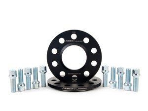 ES#2788499 - 002411ECS04A8KT - Wheel Spacer & Bolt Kit - 8mm with Ball Seat Bolts - Includes everything you need to install our new wheel-centric spacers on two wheels - ECS - Audi
