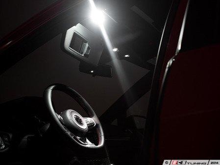 ES#2788483 - 1K0947109KT - LED Vanity Lights - set - Complete LED upgrade kit - Assembled By ECS - Volkswagen