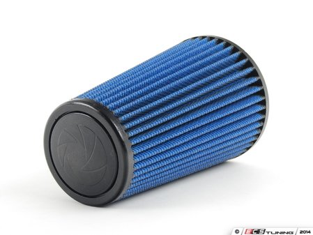 """ES#518469 - 24-30508 - Universal Pro 5R Air Filter - Blue (oiled) - Replacement filter with 3.0""""inlet, 5""""base, 3.5""""top, and 8""""height - AFE - Volkswagen"""