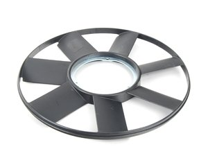 ES#2777056 - 11522243303 - European Fan  - 420mm. Fits like stock with an outer ring to stabilize and reinforce the blades. - Vaico - BMW