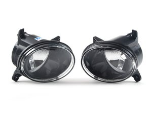 ES#2792776 - 8t0941699bKT - Fog Light Assembly - Pair - Replace your damaged fog lamp assemblies - TYC - Audi