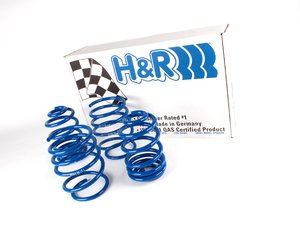 "ES#8347 - 29383 - Sport Springs Set - Sedan Models - Average lowering of 1.2""F 1.0""R - H&R - BMW"