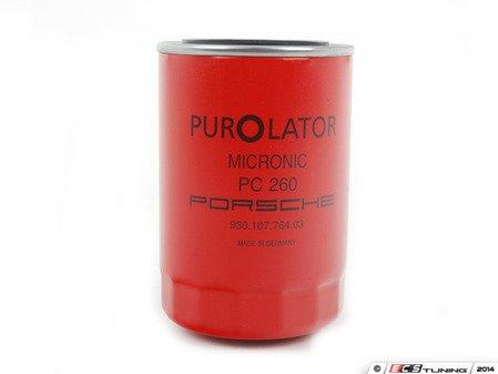 ES#2776667 - 93010776403 - Screw-On Oil Filter - Red - Oil filter fitted to the oil tank - Genuine Porsche - Porsche