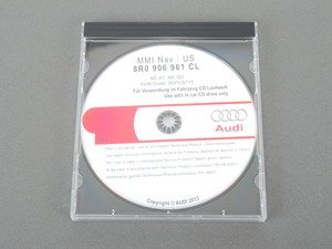 ES#2684120 - 8R0906961CL - MMI update Disc - SVM-Code 3GPUS715 - For MMI 3G Plus version K_0715 - Genuine Volkswagen Audi - Audi