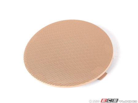 ES#102060 - 51418224387 - Speaker Cover - Left Front - Hellbeige/Light Beige. Protects the front door speaker - Genuine BMW - BMW