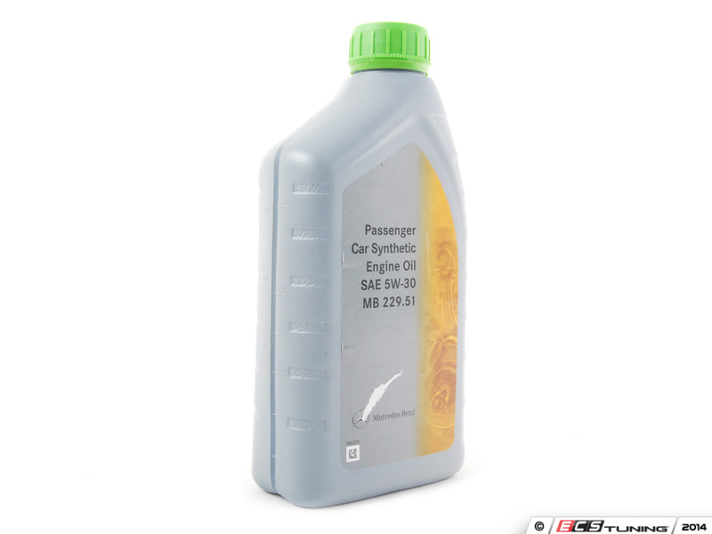 Genuine mercedes benz 0009899701usa6 5w 30 full for Mercedes benz synthetic oil