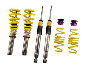 ES#2092125 - 15210075 - KW V2 Series Coilover Kit - Variant 2 coilovers offer sport handling with adjustable rebound dampening - KW Suspension - Audi