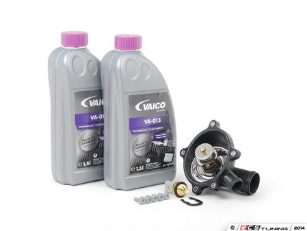 ES#2763741 - 079121115AAKT - Cooling System Refresh Kit - Level 1 - Replace your thermostat and temp sensor with one kit! - Assembled By ECS - Audi