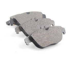 ES#2745456 - 0074206020 - Rear Brake Pad Set - Brake pads only - Wear sensors and installation hardware available separately - Genuine Mercedes Benz - Mercedes Benz