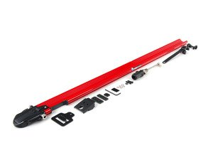 ES#1905632 - RM1104 - Euro PitchFork - Red - Sleek, low-profile bike rack designed to fit smoothly into slotted crossbars - Rocky Mounts -