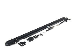 ES#1905629 - RM1102 - Euro PitchFork - Black - (NO LONGER AVAILABLE) - Sleek, low-profile bike rack designed to fit smoothly into slotted crossbars - Rocky Mounts -