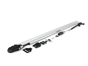 ES#1905630 - RM1103 - Euro PitchFork - Silver - Sleek, low-profile bike rack designed to fit smoothly into slotted crossbars - Rocky Mounts -