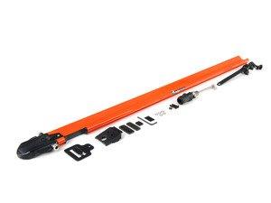 ES#1905635 - RM1107 - Euro PitchFork - Orange - Sleek, low-profile bike rack designed to fit smoothly into slotted crossbars - Rocky Mounts -