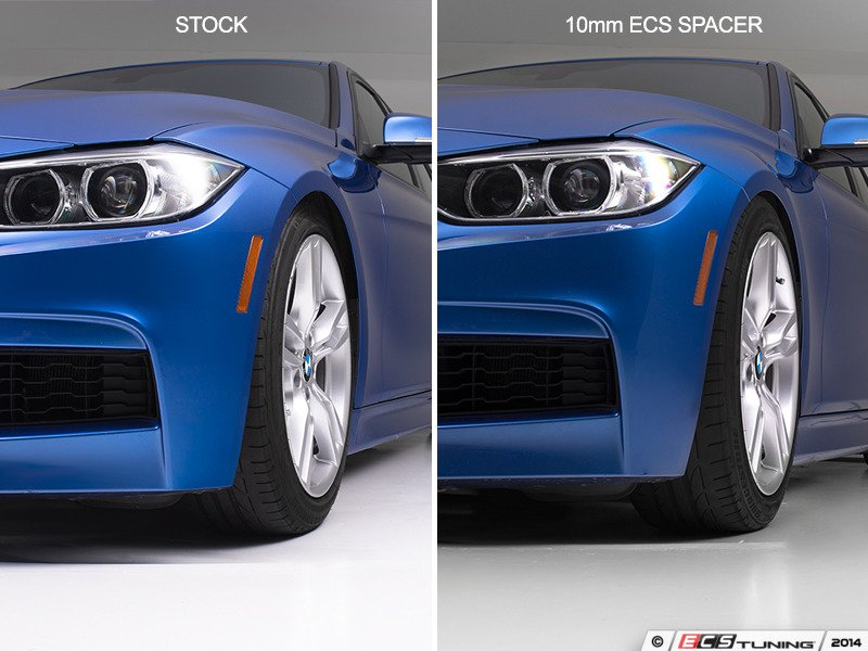 Ecs News Bmw F30 3 Series Ecs Tuning Wheel Spacer Kits