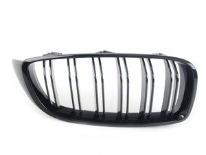 ES#2767309 - 51712352812 - Gloss Black Kidney Grille - Right - Change your grilles for a more aggressive look - Genuine BMW M Performance - BMW