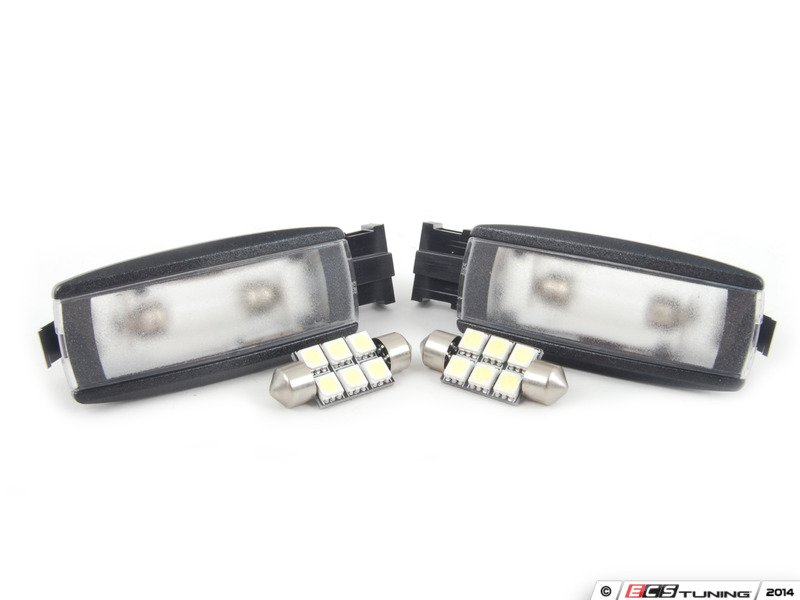 Vanity Lights Kit : Assembled By ECS - 1K0947109KT - LED Vanity Lights - set