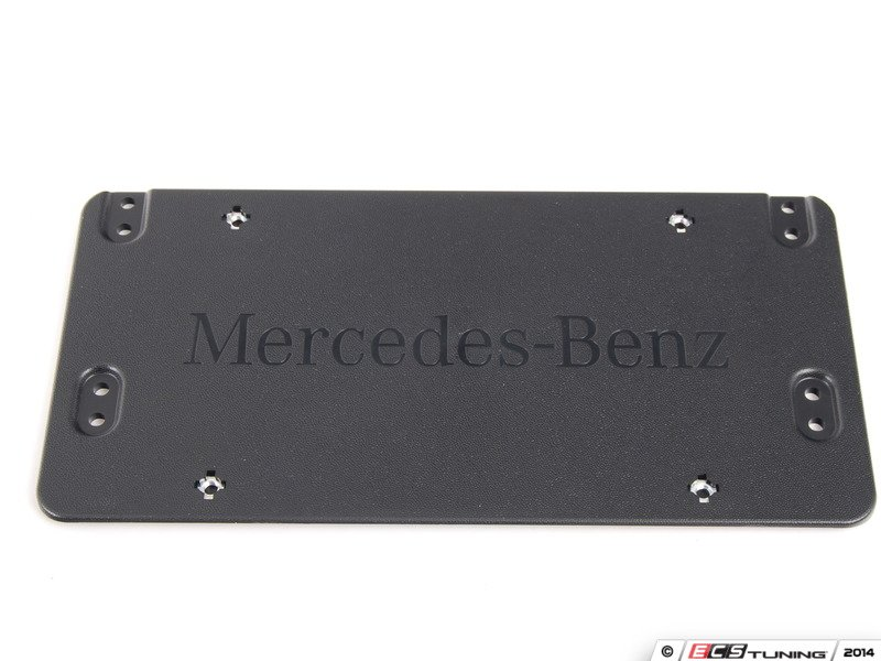 Genuine mercedes benz 0008101711 mounting plate for for Mercedes benz vanity license plates