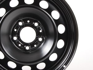 "ES#65049 - 36116777783 - 16"" Steel Wheel - Priced Each - 16x7 ET31 72.6CB 5x120. Black. - Genuine BMW - BMW"