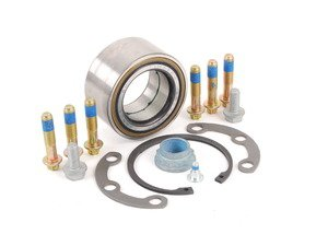 ES#1662126 - 1249800516 - Rear Wheel Bearing Kit - Priced Each - Includes Wheel Bearing, Flange, Snap Ring And Axle Nut - Genuine Mercedes Benz - Mercedes Benz
