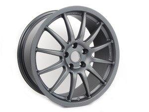 "ES#2855077 - vwr610004KT - 18"" VWR - Set Of Four - 18""X9"" ET35 5x112 - Gunmetal Grey - Racingline - Audi Volkswagen"