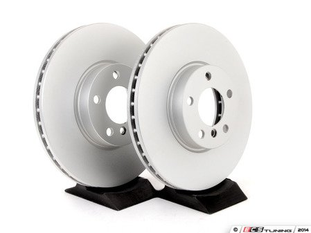 ES#2771591 - 34116793245KT1 - Front Brake Rotors - Pair (332x30) - Quality replacement rotors to restore your stopping power - Meyle - BMW