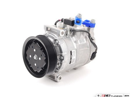 ES#2770697 - 4E0260805F - A/C Compressor  - New compressor with clutch assembly - Get your A/C back in working order! - Denso - Audi