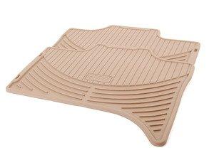 ES#120630 - 51470151502 - Beige Rubber Floor Mats - Rear - Protect your valuable carpet - Genuine BMW - BMW